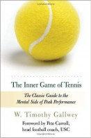 The Inner Game of Tennis: The Classic Guide to the Mental Side of Peak Performance by W. Timothy Gallwey