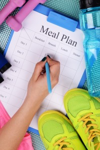 Meal planning and healthy eating habits don't have to be too difficult or time consuming if you apply these four ways to make weekly meal planning easier.