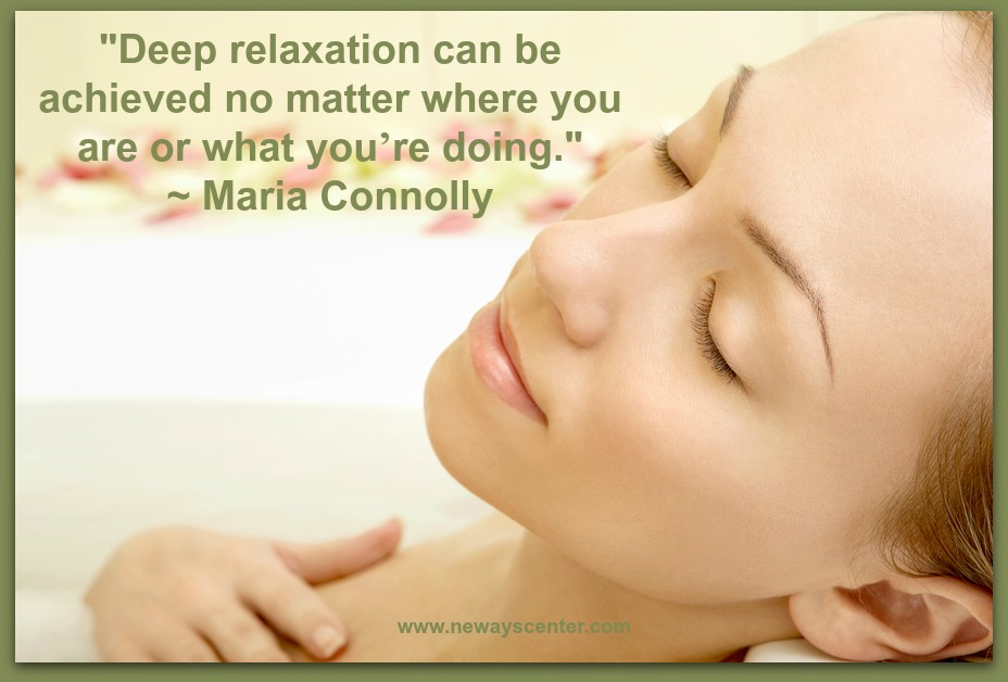 Deep relaxation can be achieved no matter where you are or what you're doing if you learn these Progressive Muscle Relaxation and NLP anchoring techniques.